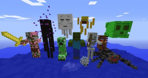 mobs de minecraft