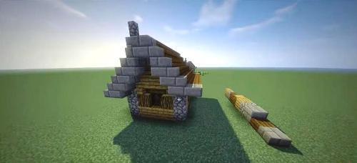 C mo hacer una casa en minecraft paso a paso for Como hacer una casa clasica de ladrillo en minecraft