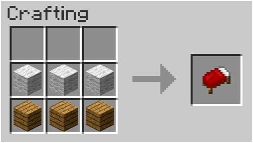 como-hacer-cama-minecraft-facil-rapido