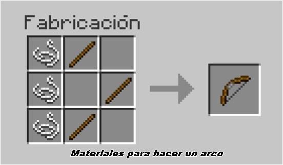 como-hacer-un-arco-en-minecraft-pasos