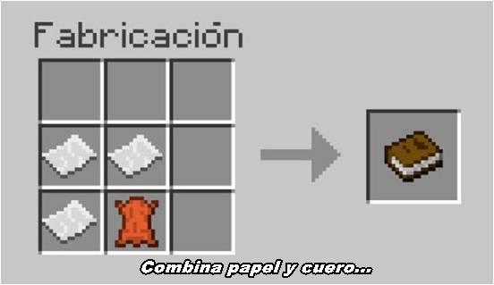 papel-cuero-libro-minecraft