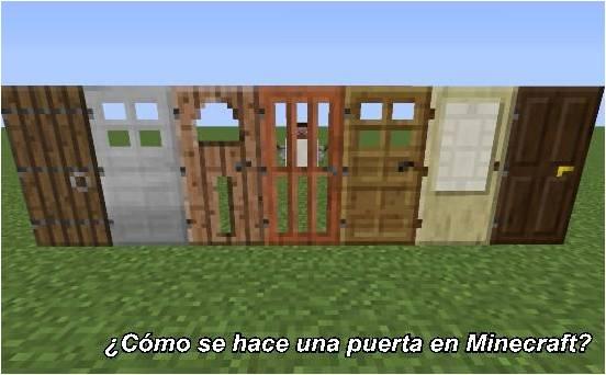 como-hacer-una-puerta-en-minecraft